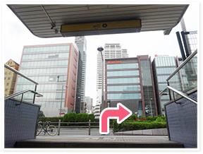 西大橋駅からのアクセス写真1