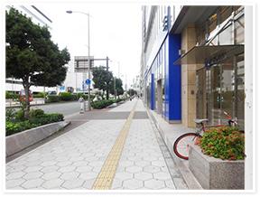 西大橋駅からのアクセス写真2