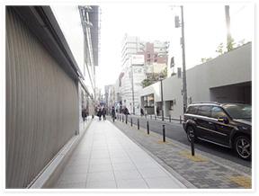 心斎橋駅からのアクセス写真3