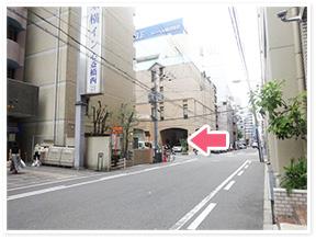 四ツ橋駅からのアクセス写真3