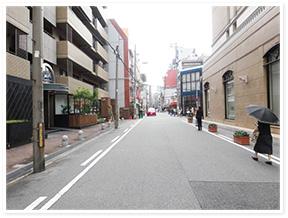 四ツ橋駅からのアクセス写真4